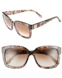 Juicy Couture - Shades Of 55mm Square Sunglasses - Havana Light Pink - Lyst