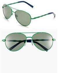 polarized aviator sunglasses bkpi  Lilly Pulitzer  Lilly Pulitzer 'amelia' 57mm Polarized Aviator Sunglasses