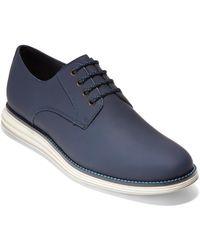 Cole Haan Original Grand Plain Toe Derby - Blue