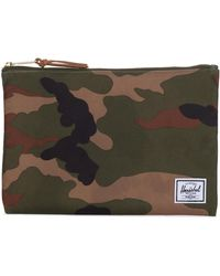 Herschel Supply Co. Large Network Pouch - Green