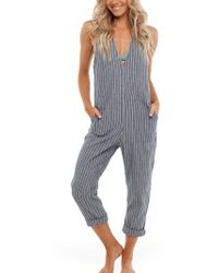 Rhythm - Castaway Cover-up Jumpsuit - Lyst