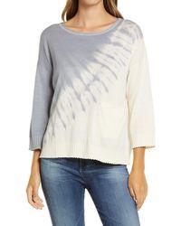 Wit & Wisdom Tie Dye Sweater - Multicolor