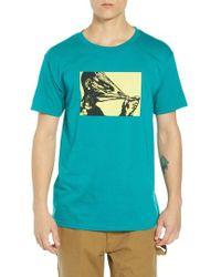 Obey - Crisis Premium T-shirt - Lyst