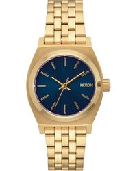 Nixon - Time Teller Bracelet Watch - Lyst