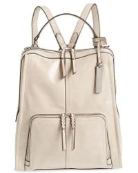 Vince Camuto - Narra Leather Backpack - Lyst