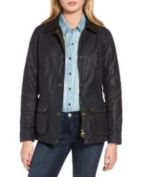 Barbour   Castlebay Water Resistant Waxed Canvas Jacket   Lyst