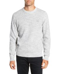 Lacoste - Thermal Knit Sweater - Lyst