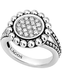 Lagos - Caviar Spark Diamond Ring - Lyst