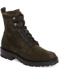 Frye | Julie Hook Combat Boot | Lyst