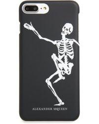 Alexander McQueen - Dancing Skeleton Iphone 8 Plus Case - Lyst