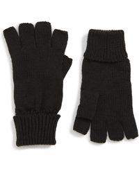 Trouvé Fingerless Gloves - Black