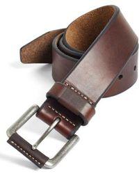 Johnston & Murphy - Leather Belt - Lyst
