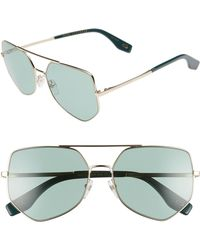 cdf327a9fe Lyst - Forever 21 Jadeview Navigator Sunglasses in Black