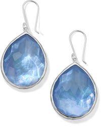 Ippolita Rock Candy Large Teardrop Earrings - Blue