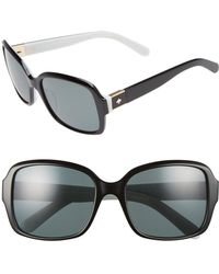 Kate Spade - Annor 54mm Polarized Sunglasses - Lyst