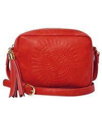 Urban Originals - Wild Rose Embossed Vegan Leather Shoulder Bag - Lyst