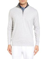 Bobby Jones - Pto Liquid Stretch Quarter Zip Pullover - Lyst