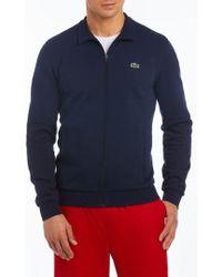Lacoste - Fleece Zip Jacket - Lyst