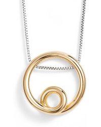 Jenny Bird - Mini Loop Pendant Necklace - Lyst