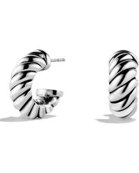 David Yurman Cable Classics Earrings - Metallic