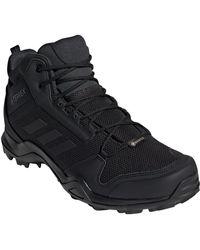 adidas Ax3 Mid Gore-tex Waterproof Hiking Shoe - Black