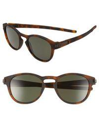 Oakley - 'latch(tm)' 53mm Retro Sunglasses - - Lyst