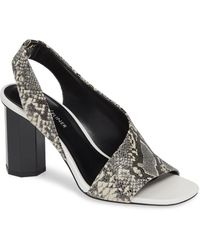 f4f8adc9224951 Lyst - Nina Ella Gold Sandals in Metallic