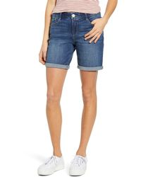 Wit & Wisdom Ab-solution Denim Shorts - Blue
