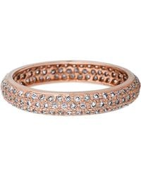 Sethi Couture - Pave Diamond Band Ring - Lyst