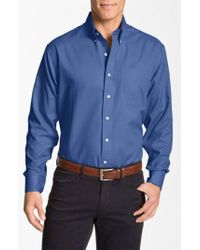 Cutter & Buck - 'nailshead - Epic Easy Care' Classic Fit Sport Shirt - Lyst