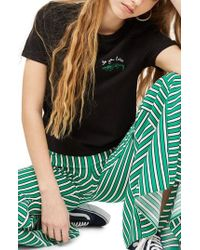TOPSHOP - Alligator T-shirt - Lyst