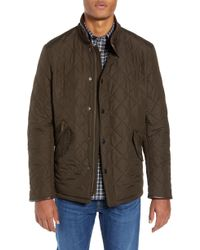 Barbour - 'powell' Regular Fit Quilted Jacket - Lyst