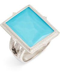 Armenta New World Doublet Ring - Metallic