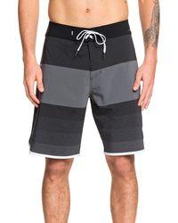 Quiksilver - Highline Tijuana Stripe Board Shorts - Lyst