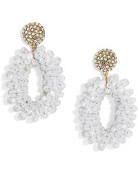 BaubleBar | Eve Beaded Drop Earrings | Lyst