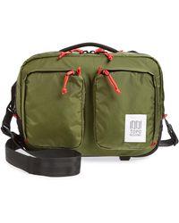 Topo Designs Global Water Repellent Briefcase - Green