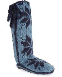Woolrich 'chalet' Socks - Blue