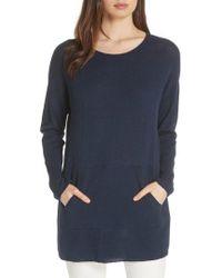Eileen Fisher - Tunic Sweater - Lyst
