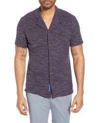 Robert Graham - Turco Tailored Fit Knit Camp Shirt - Lyst