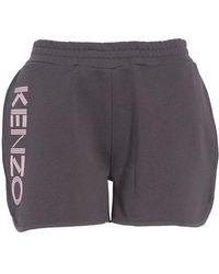 KENZO - Logo Sport Shorts - Lyst