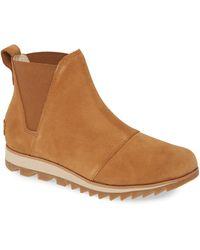 Sorel Harlow Waterproof Chelsea Boot - Brown