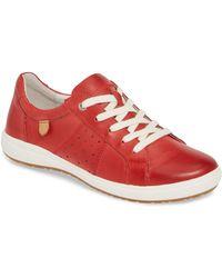 Josef Seibel Caren 01 Sneaker - Red