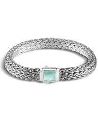 John Hardy - Classic Chain Reversible Bracelet - Lyst