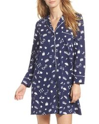 Kate Spade | Print Sleep Shirt | Lyst