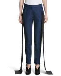 Hellessy - Mojave Side Panel Skinny Jeans - Lyst
