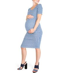 Nom Maternity - Hailey Maternity Dress - Lyst