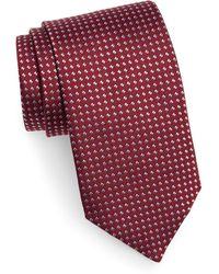 David Donahue - Geometric Dot Silk Tie - Lyst