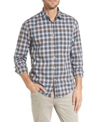 Billy Reid - John T Standard Fit Check Sport Shirt - Lyst