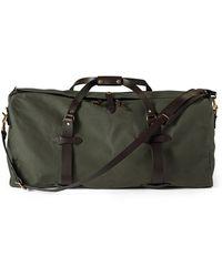 Filson Large Cotton Duffle Bag - Green