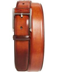 Magnanni Catalux Leather Belt - Orange